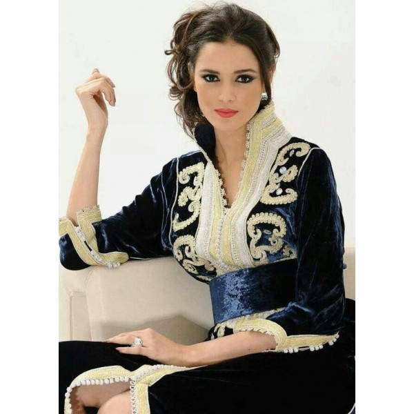 caftan col officier 217