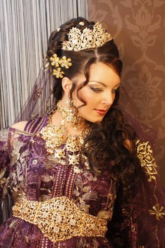Parure caftan marocaine et bijoux