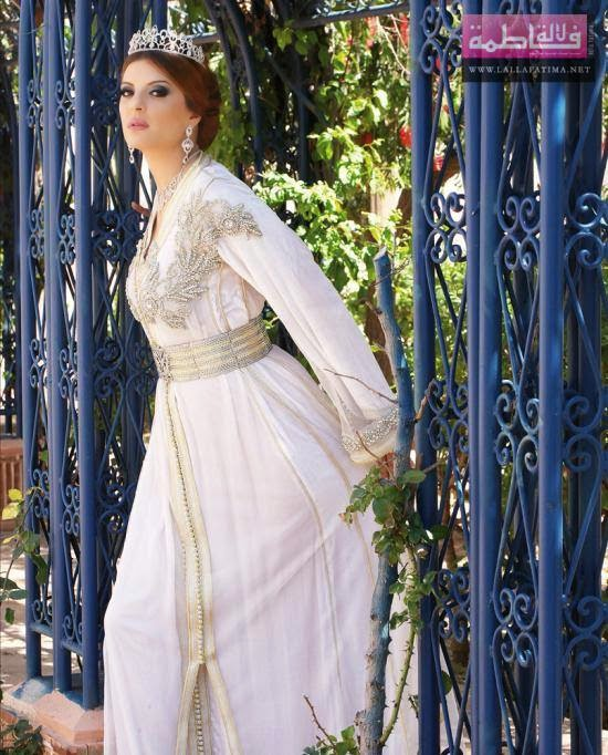 Robe caftan marocain de  mariage