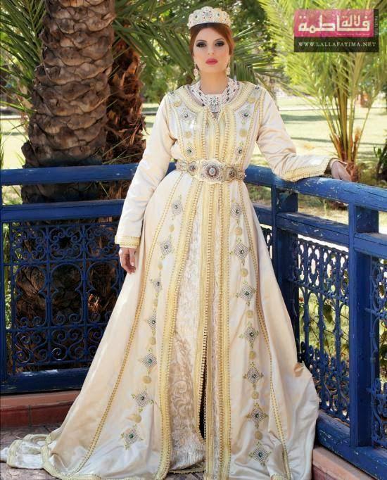 Robe De Mariage Marocaine : la mode des robes de france robe longue mariage marocain ~ Preciouscoupons.com Idées de Décoration