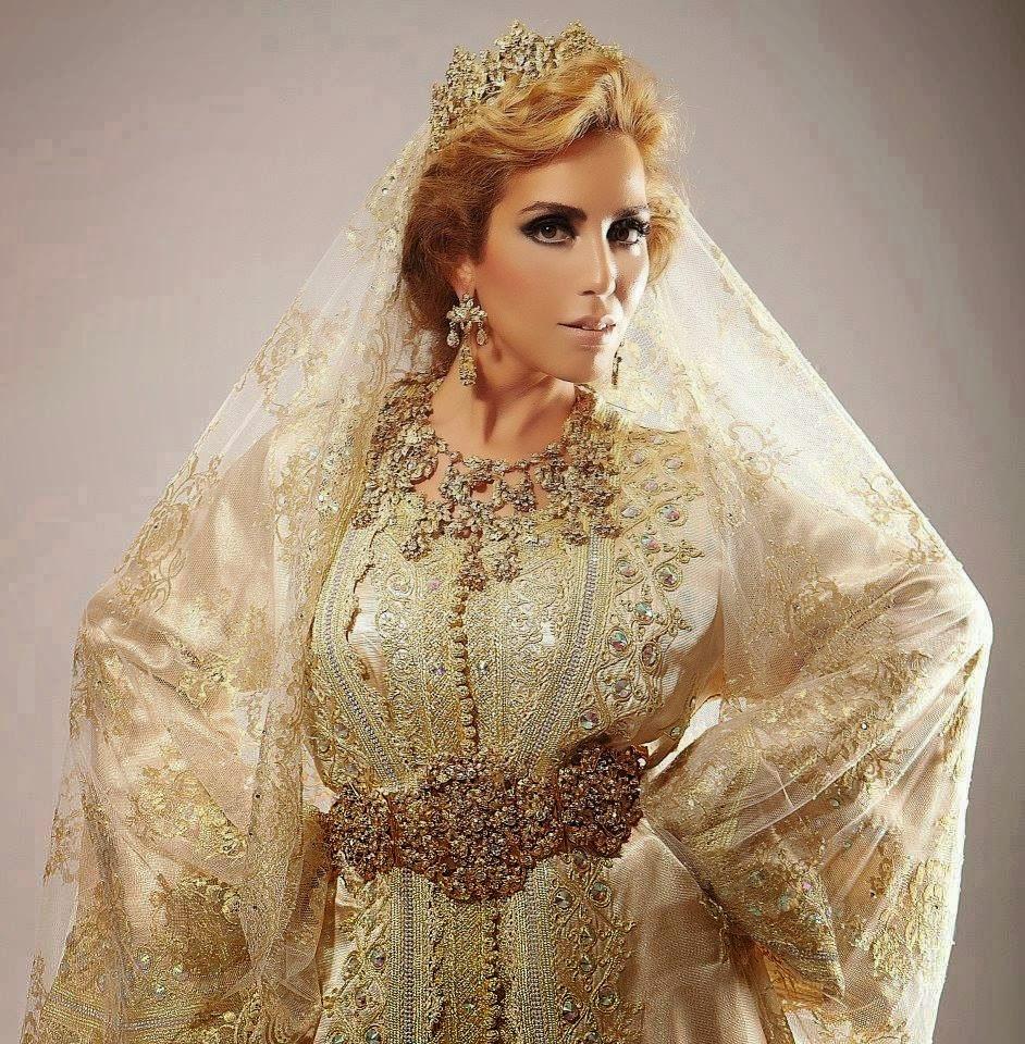 Caftan blanc pour mariée à prix très spéciale