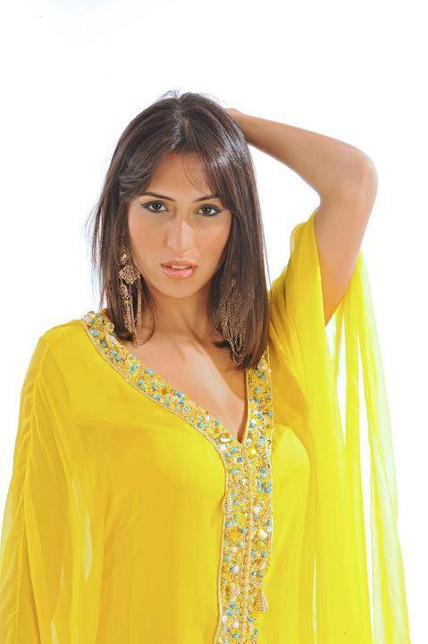gandoura marocaine de haute couture