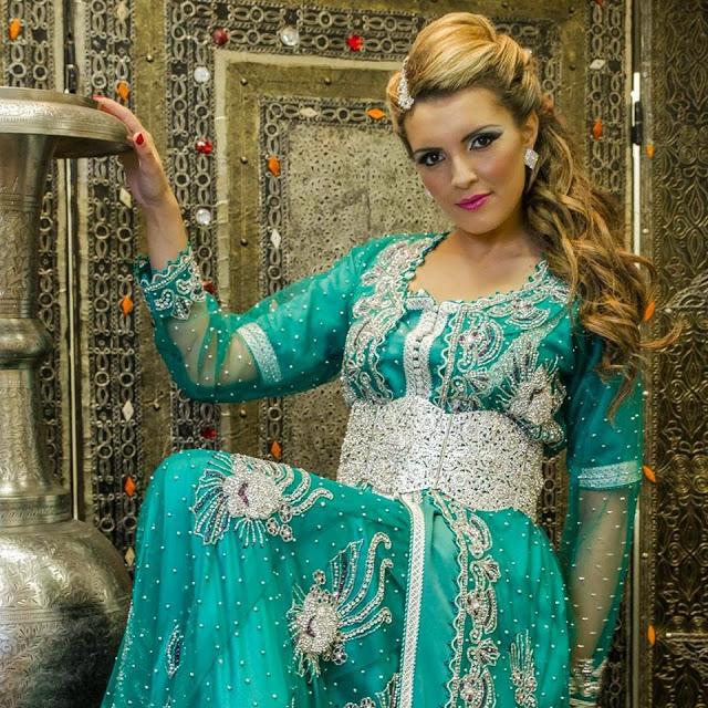 Caftan marocain dentelle collection 2015