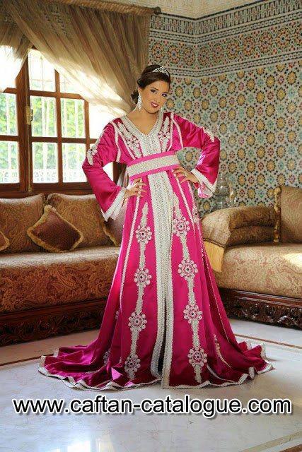 Caftan marocain design moderne