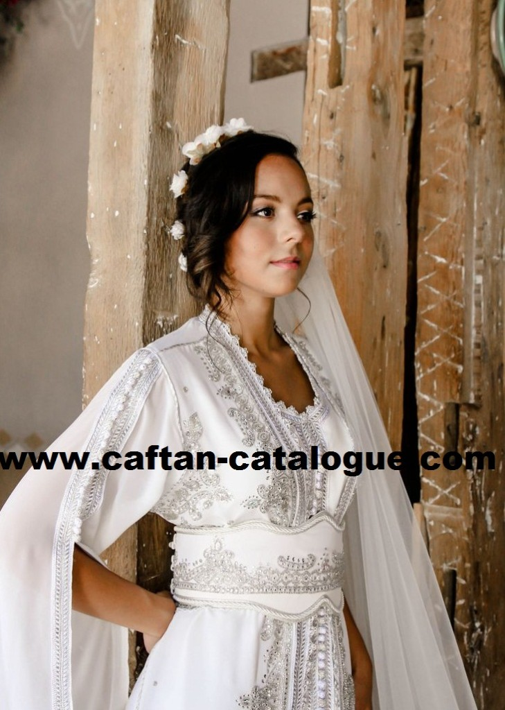 Caftan marocain du mariage negafa