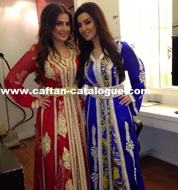 Caftan marocain haute couture style Fassi
