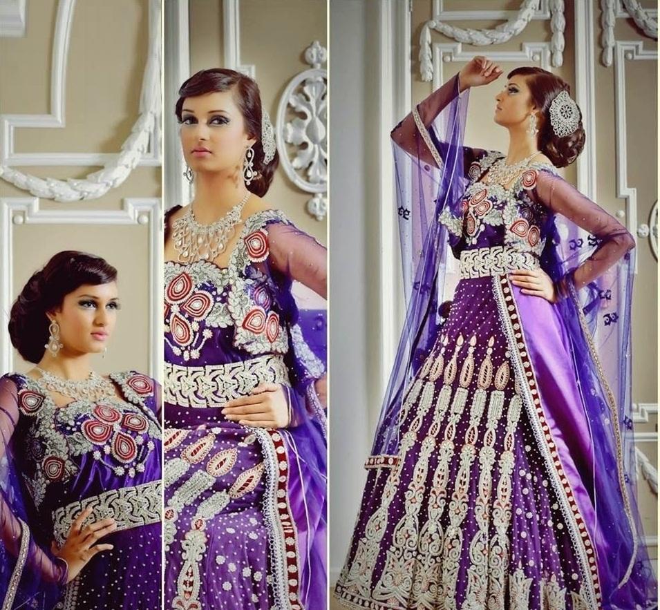 Modèle caftan indien pour mariage