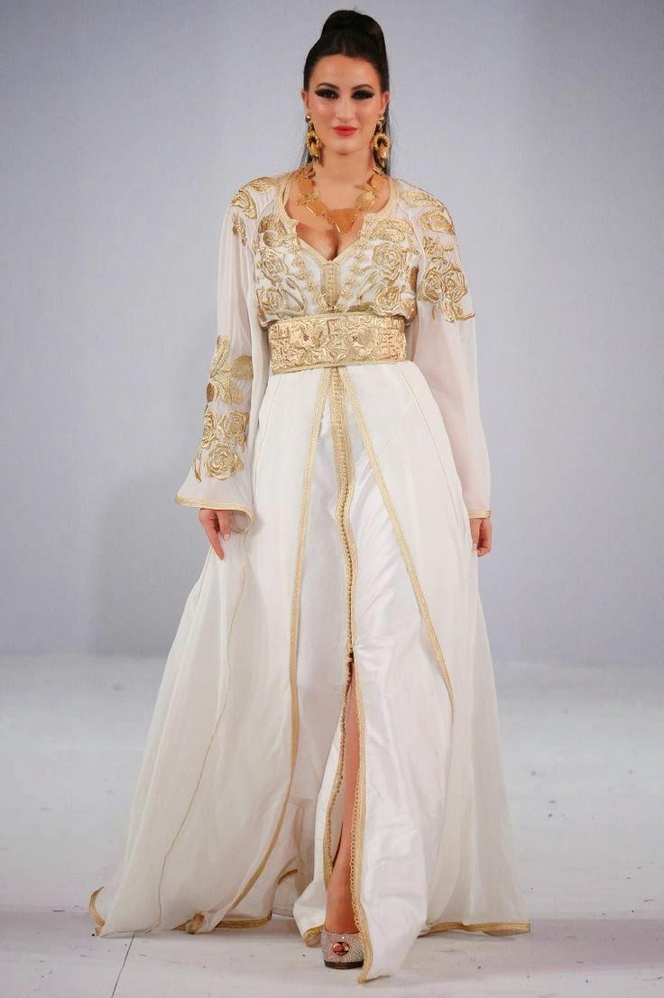 Modèles de caftan marocain de mariage