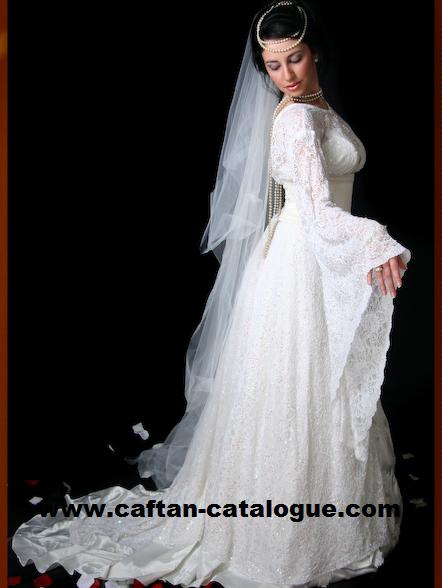 Prix de caftan de mariage pas cher