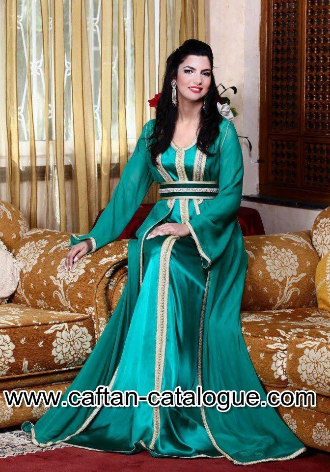 Takchita marocaine  turquoise