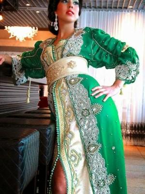 caftan sari indien style moderne