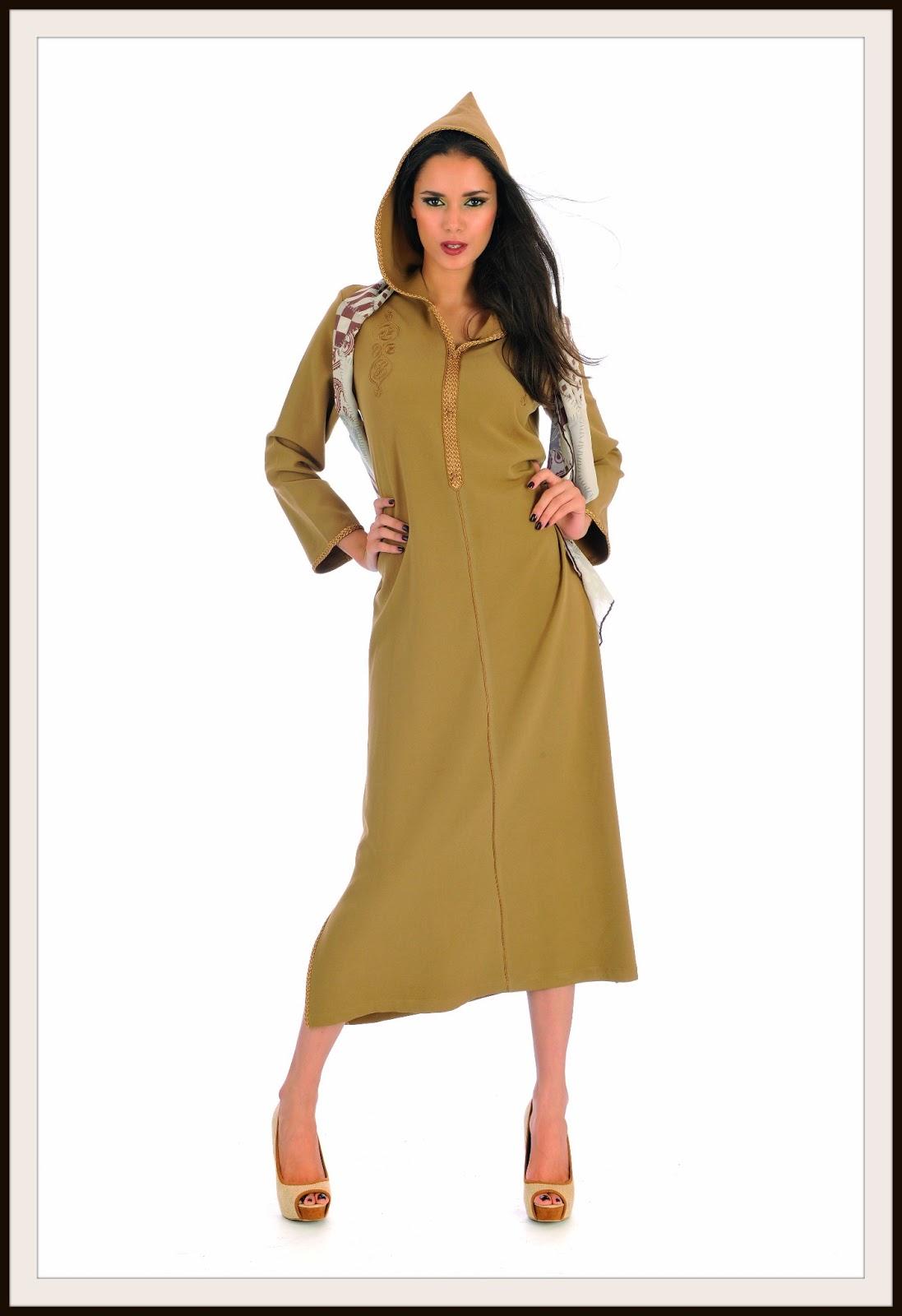 djellaba marocain pour femme
