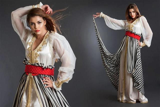 la confection de caftan marocain haute couture