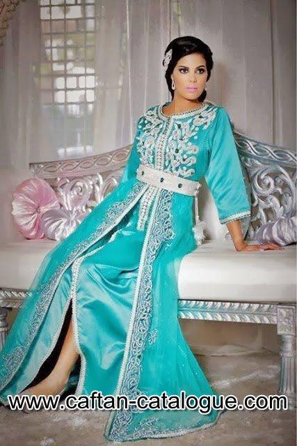 Caftan marocain d'année 2015
