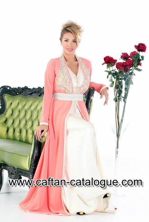 Caftan marocain de haute couture