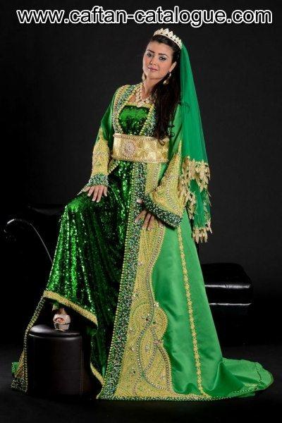 Negafa et caftan marocain à lille