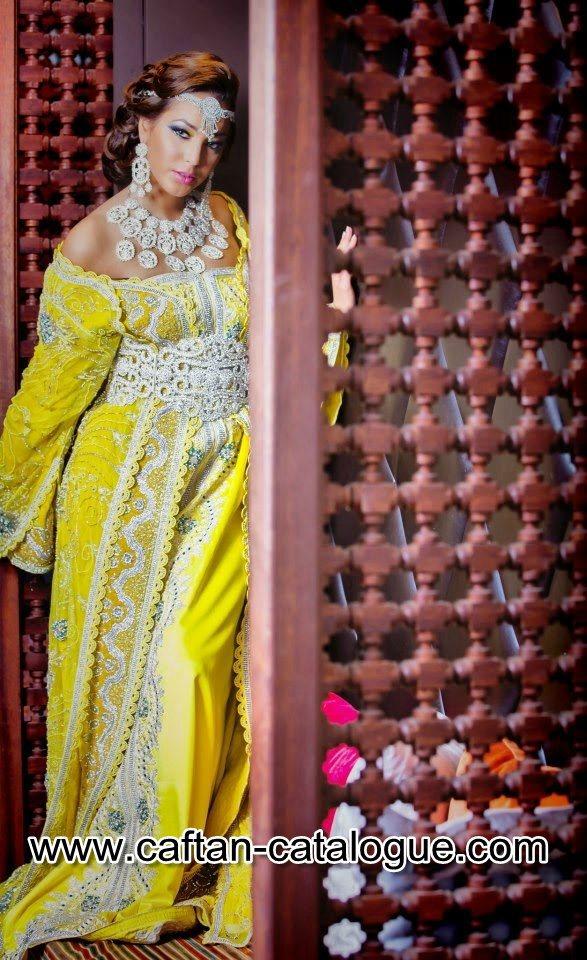 Takchita marocaine de haute couture