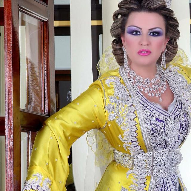 Modèles takchita marocaine de mariage