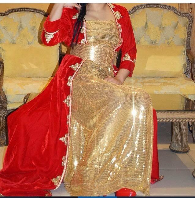 défilé robe caftan marocain prestige