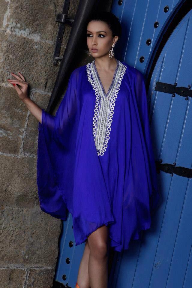 gandoura couture marocaine