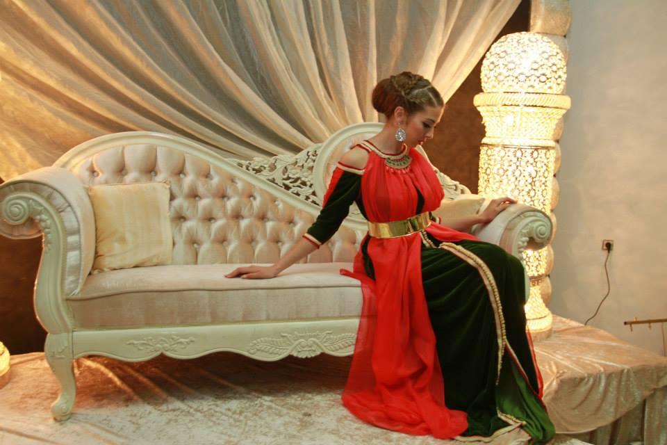 nouvelle conception du caftan marocain