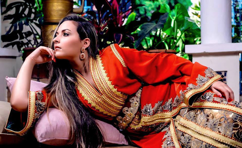 Caftan marocain du nord