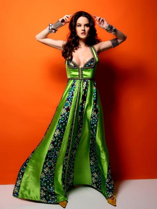 caftan de haute couture 2016 du styliste marocain Nabil Dahani