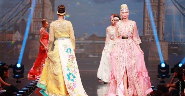 des caftans de styliste marocain Nabil Dahani