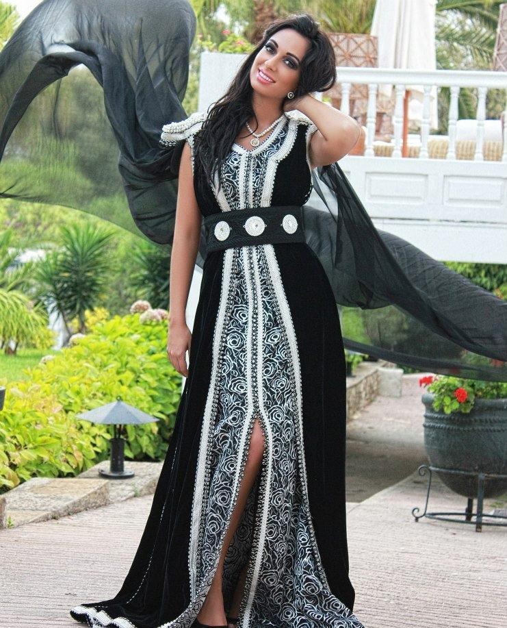 caftan mode 2016 noir