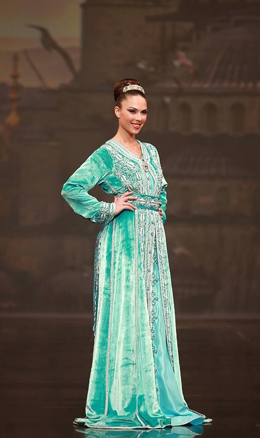 magnifique caftan marocain