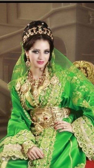 caftan pour henna marocain