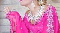 caftan robe rose pour mariage