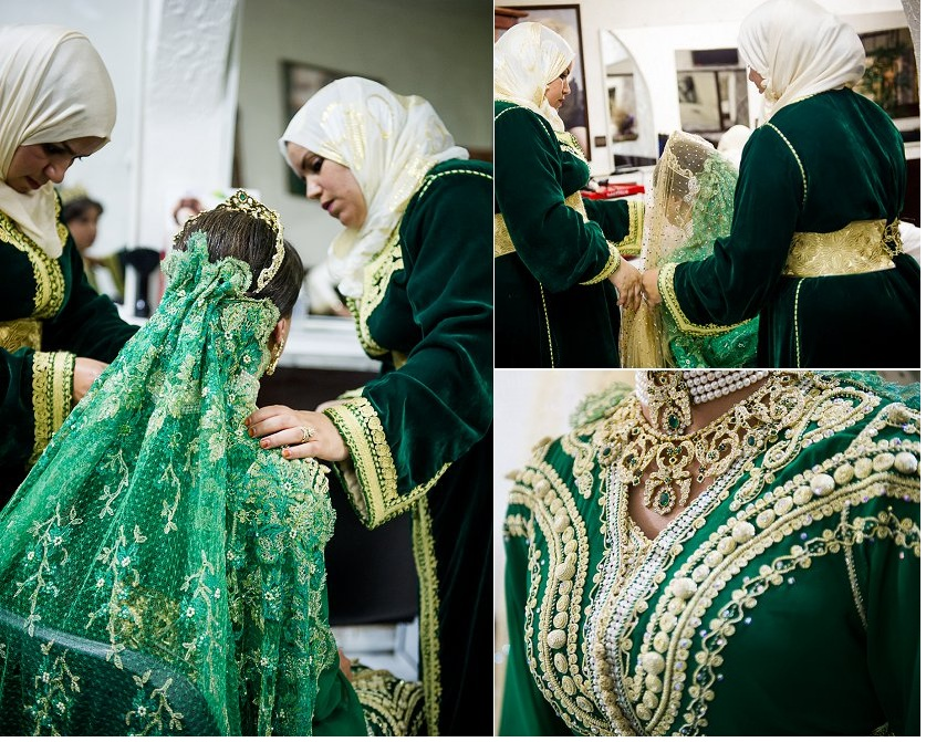 caftan marocain pour henna