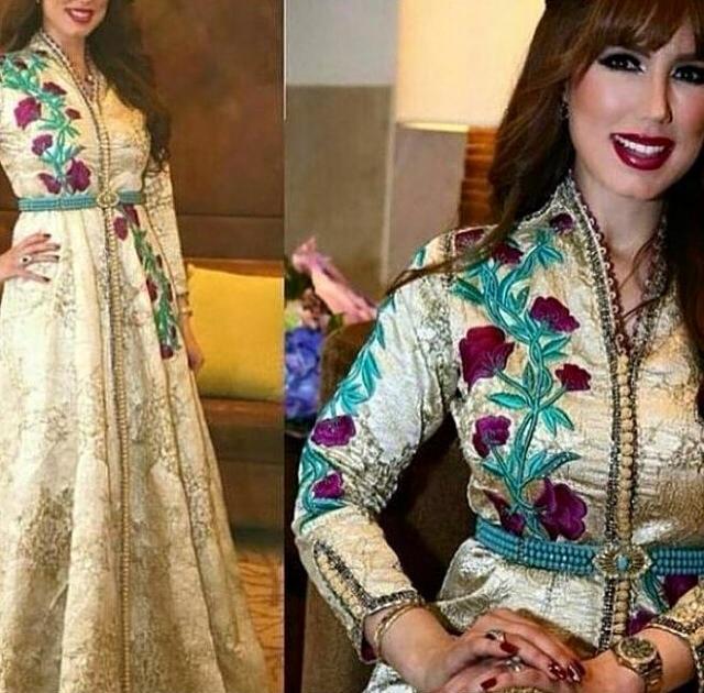 robe caftan marocain 2016