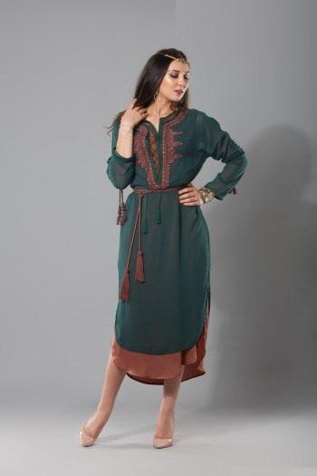 djellaba marocain femme