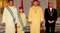 mohamedVI en djellaba royale